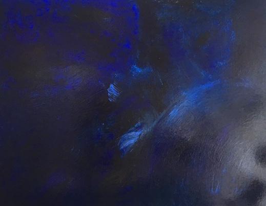 Laure JULIEN, Série Rêve Bleu, Cosmo, 146*114