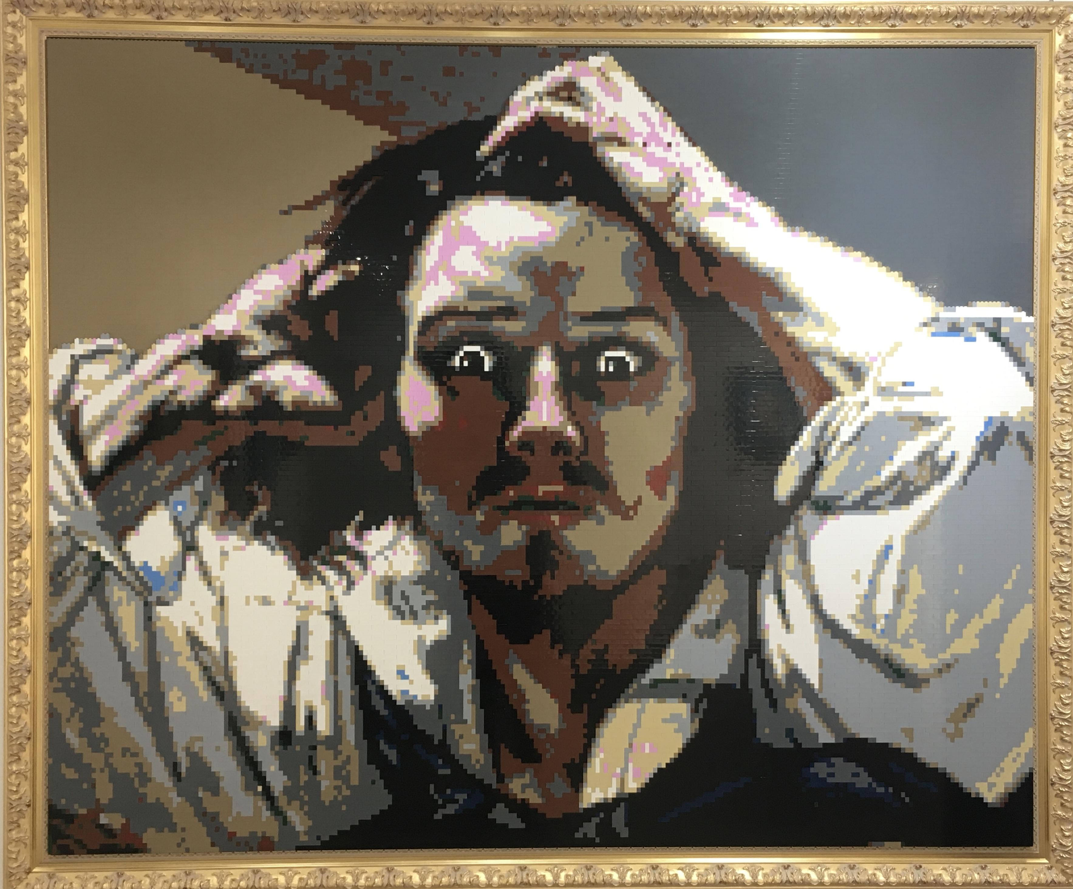 Le Désespéré en hommage à Gustave Courbet, 190_160, Ymas Design