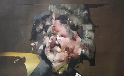 Florian Eymann, visage à la perruque 030