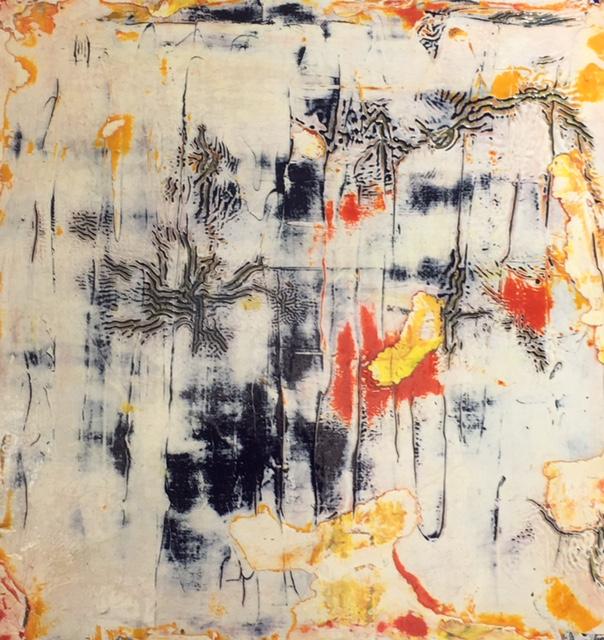 LECOT, peinture à l'huile, 30*30