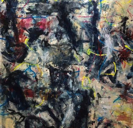 Origine, acrylique sur toile, 162*114cm,