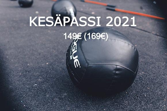 Kesäpassi - 2021