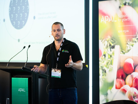 Great to present at the APAL Grower R&D updates