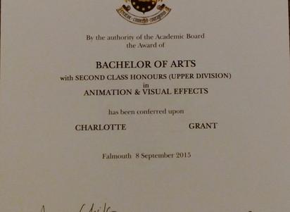 Achievement Unlocked? AKA a graduation post!