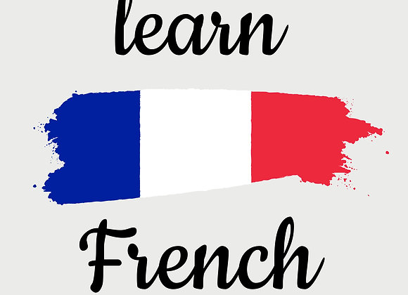 Intensive Online French Program (Full Payment)