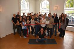 Ribbon Cutting Stouffville Yoga Life