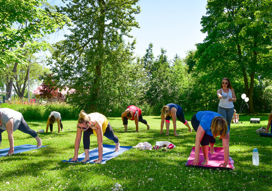 Stouffville Yoga Life at Strawberry Festival