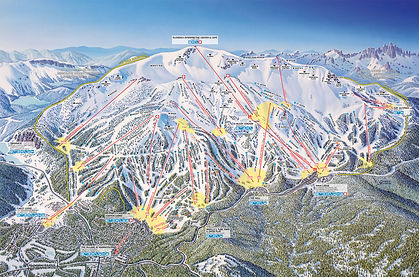 Heavenly Mountain Trail Maps