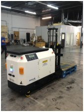 Laser Guided Counterbalance Fork AGV