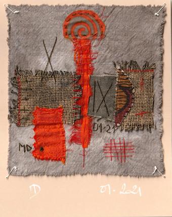 Fragment n°758 Martine Dubois © Adagp, Paris, 2021