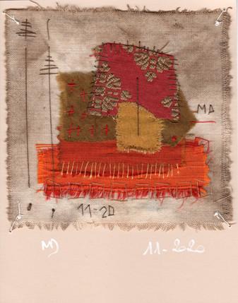 fragment n° 710 Martine Dubois © Adagp, Paris, 2021