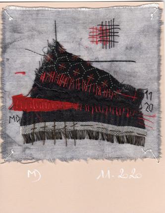 fragment n° 712 Martine Dubois © Adagp, Paris, 2021