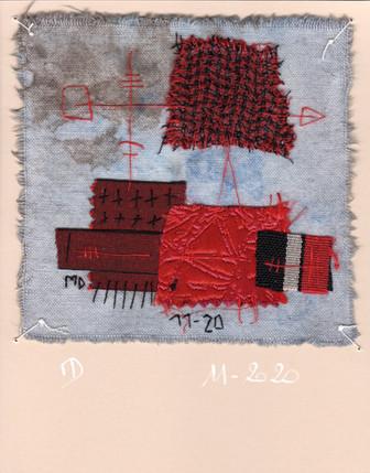 fragment n° 694 Martine Dubois © Adagp, Paris, 2021