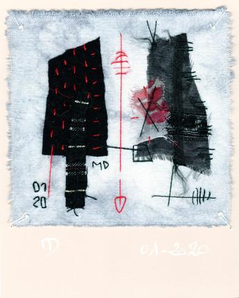 fragment n° 391Martine Dubois © Adagp, Paris, 2021