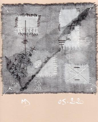 fragment n° 510 Martine Dubois © Adagp, Paris, 2021