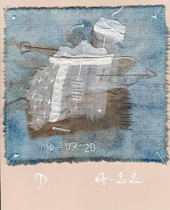 fragment n° 563 Martine Dubois © Adagp, Paris, 2021