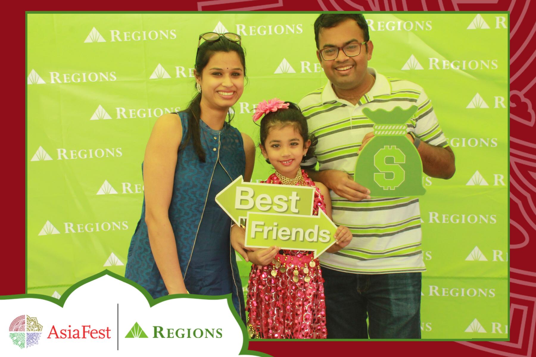 Regions AsiaFest Single