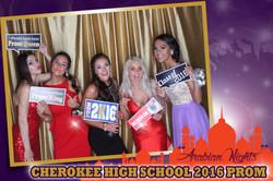 Cherokee High School Prom