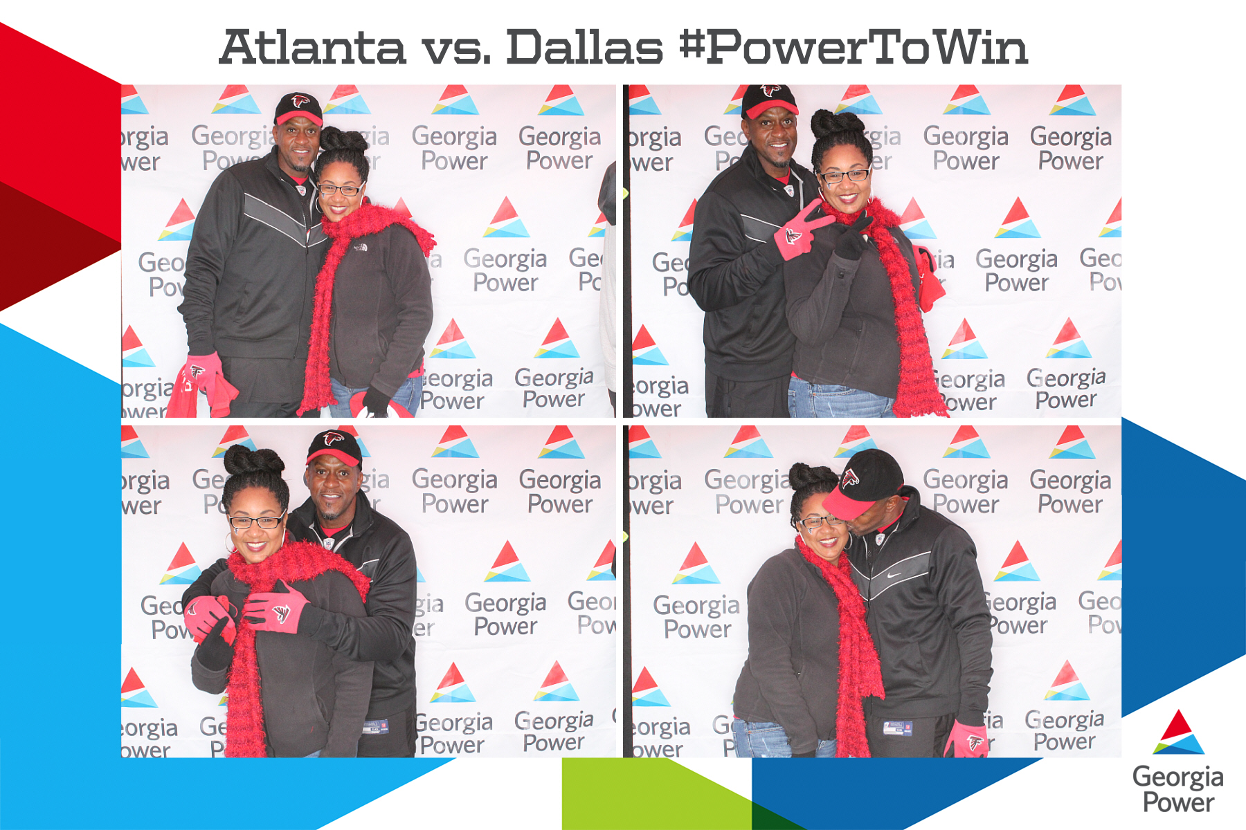 ATL vs DAL #PowerToWin (4in1)