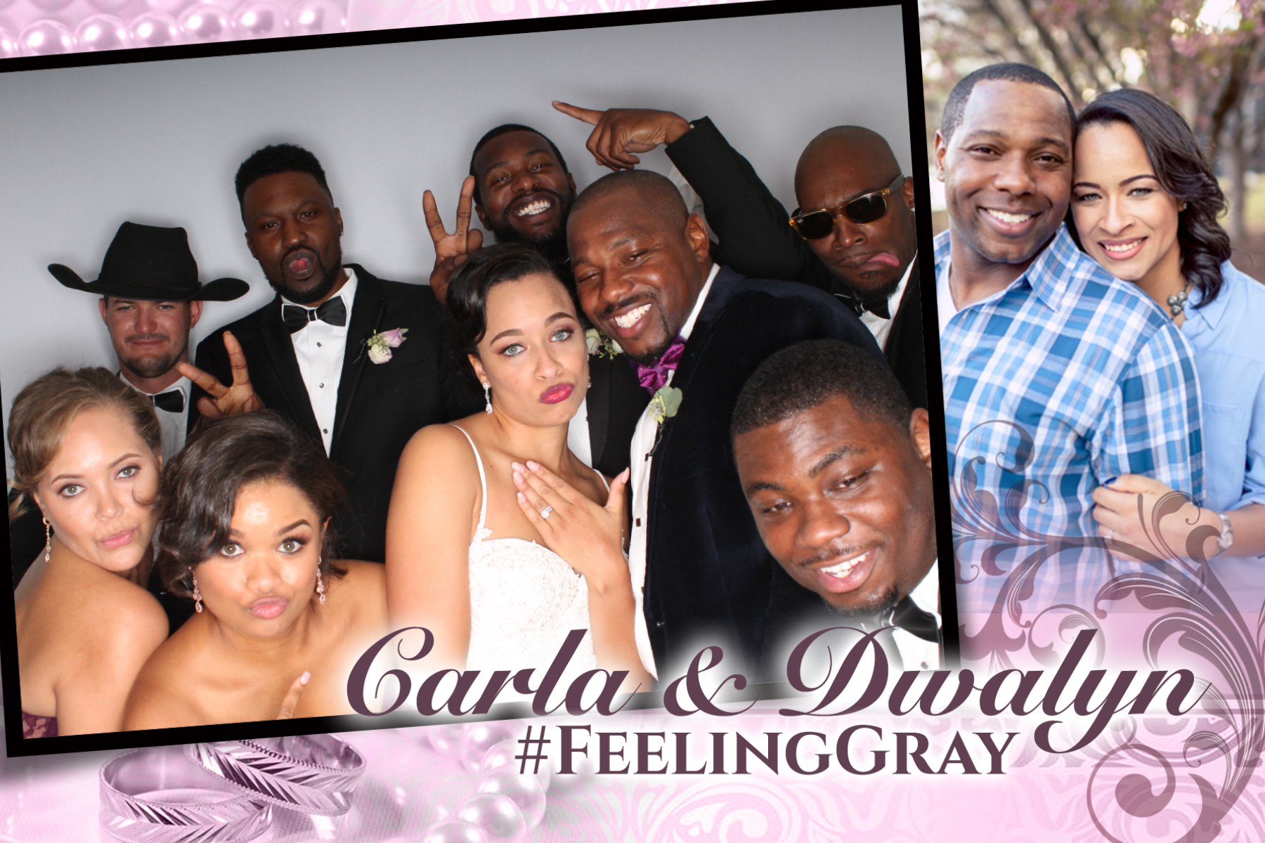 #FeelingGray Wedding