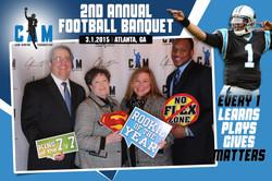 Cam Newton Foundation Banquet