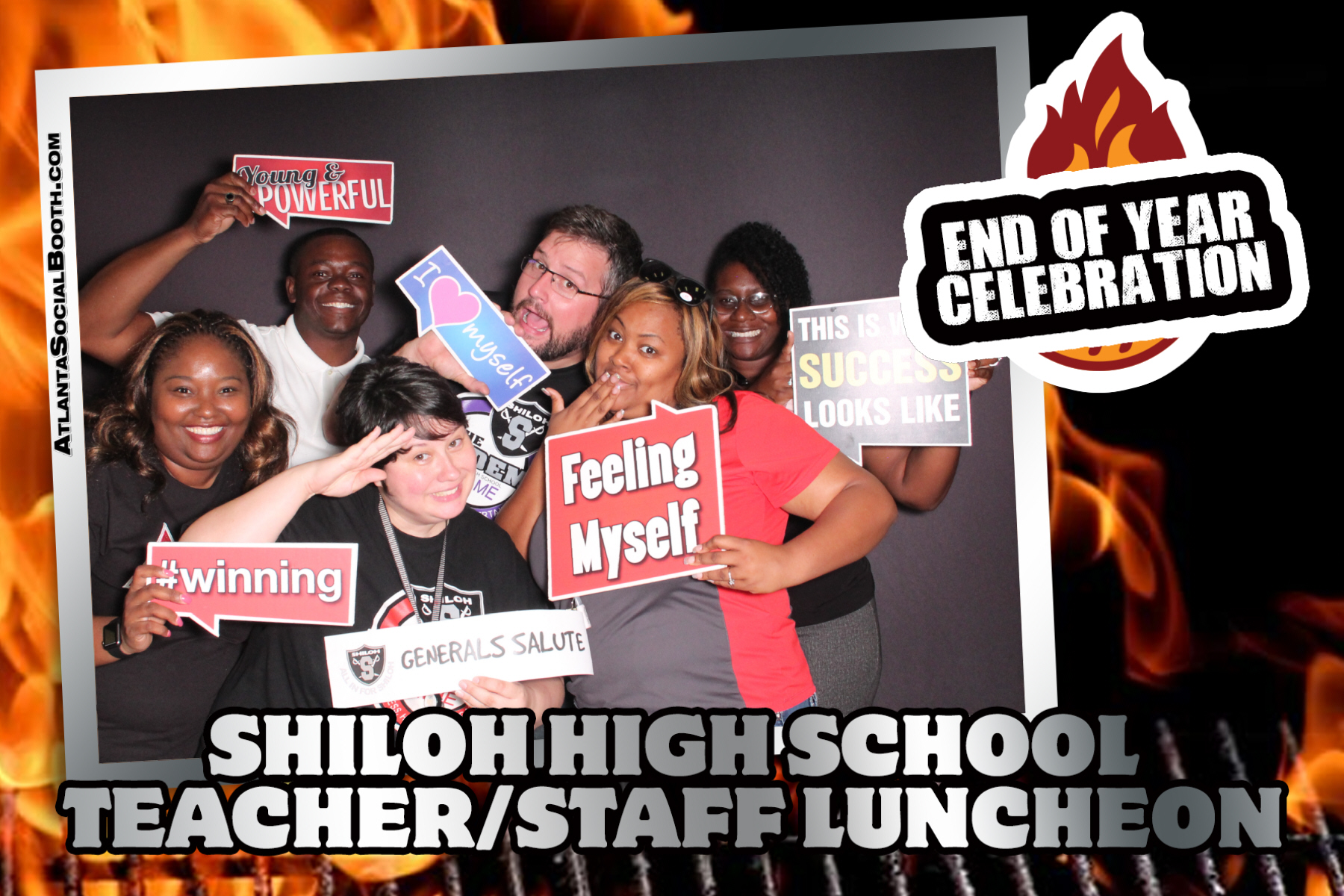 Shiloh HS Teacher/Staff Luncheon