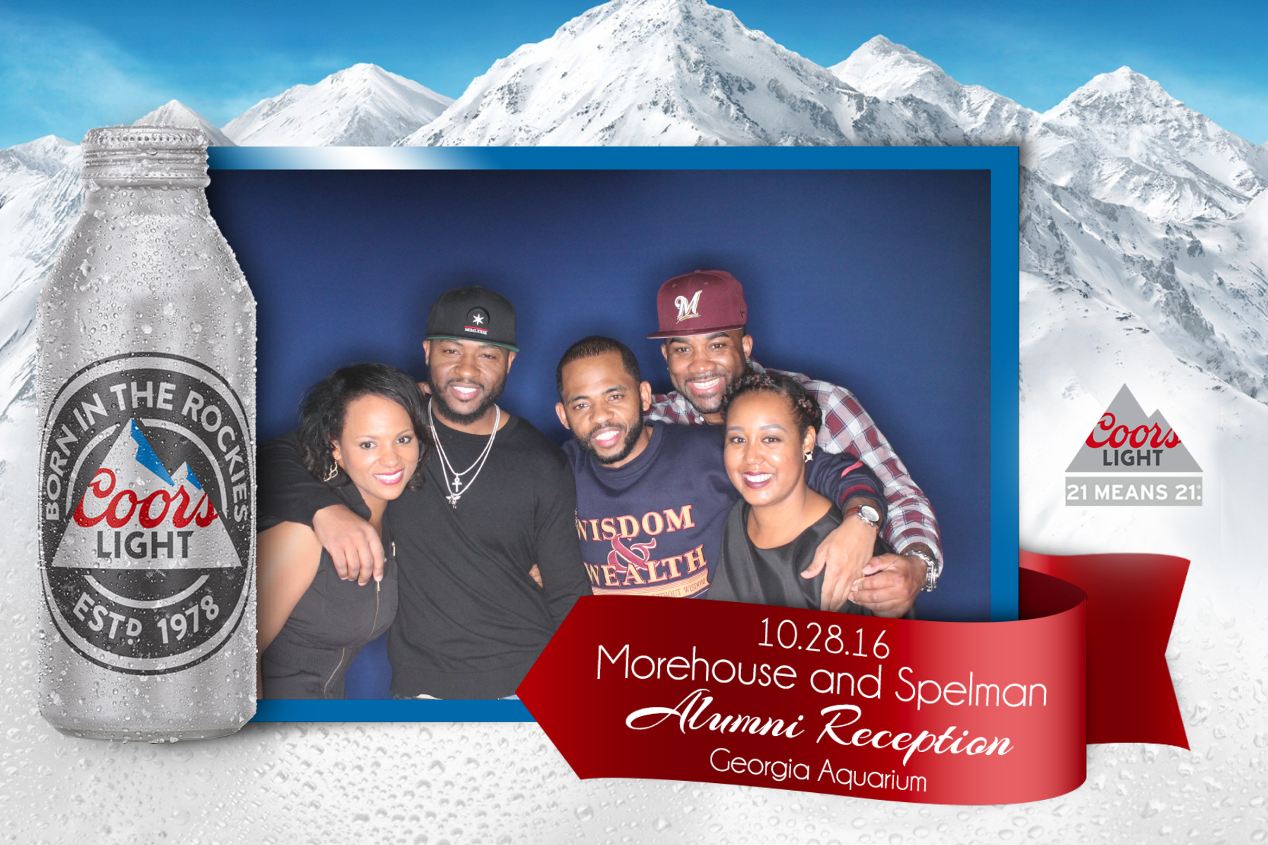 Coors Light 2016 Spelhouse Reception