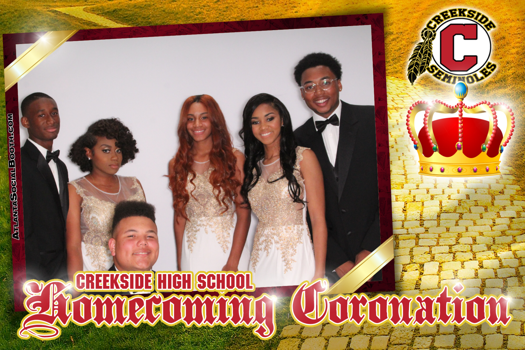 2017 Creekside HS Coronation