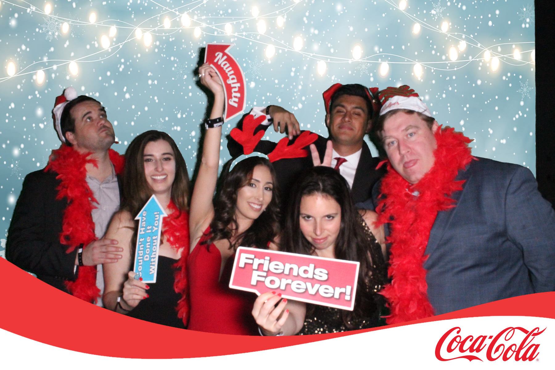 Coke Holiday Party