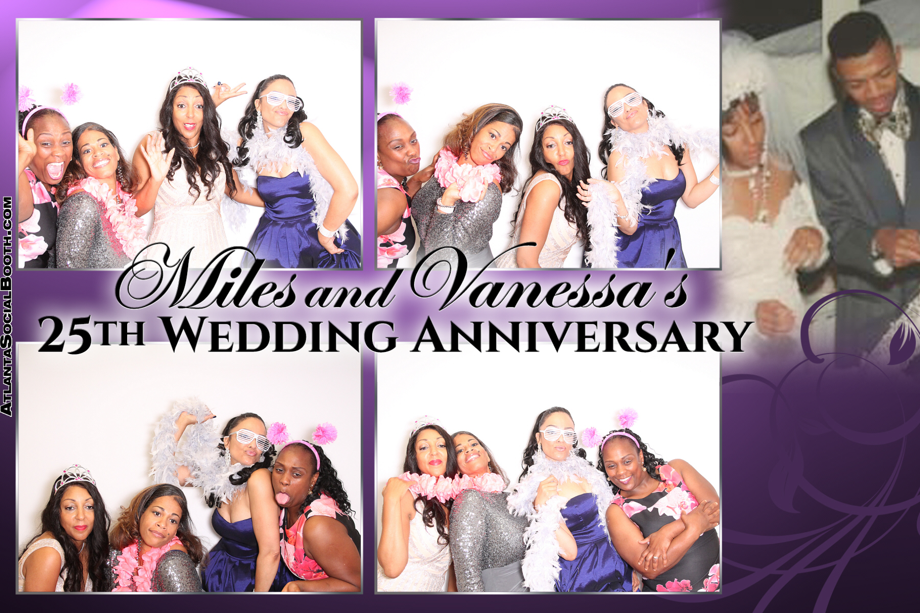 Miles and Vanessa Wedding Anniv
