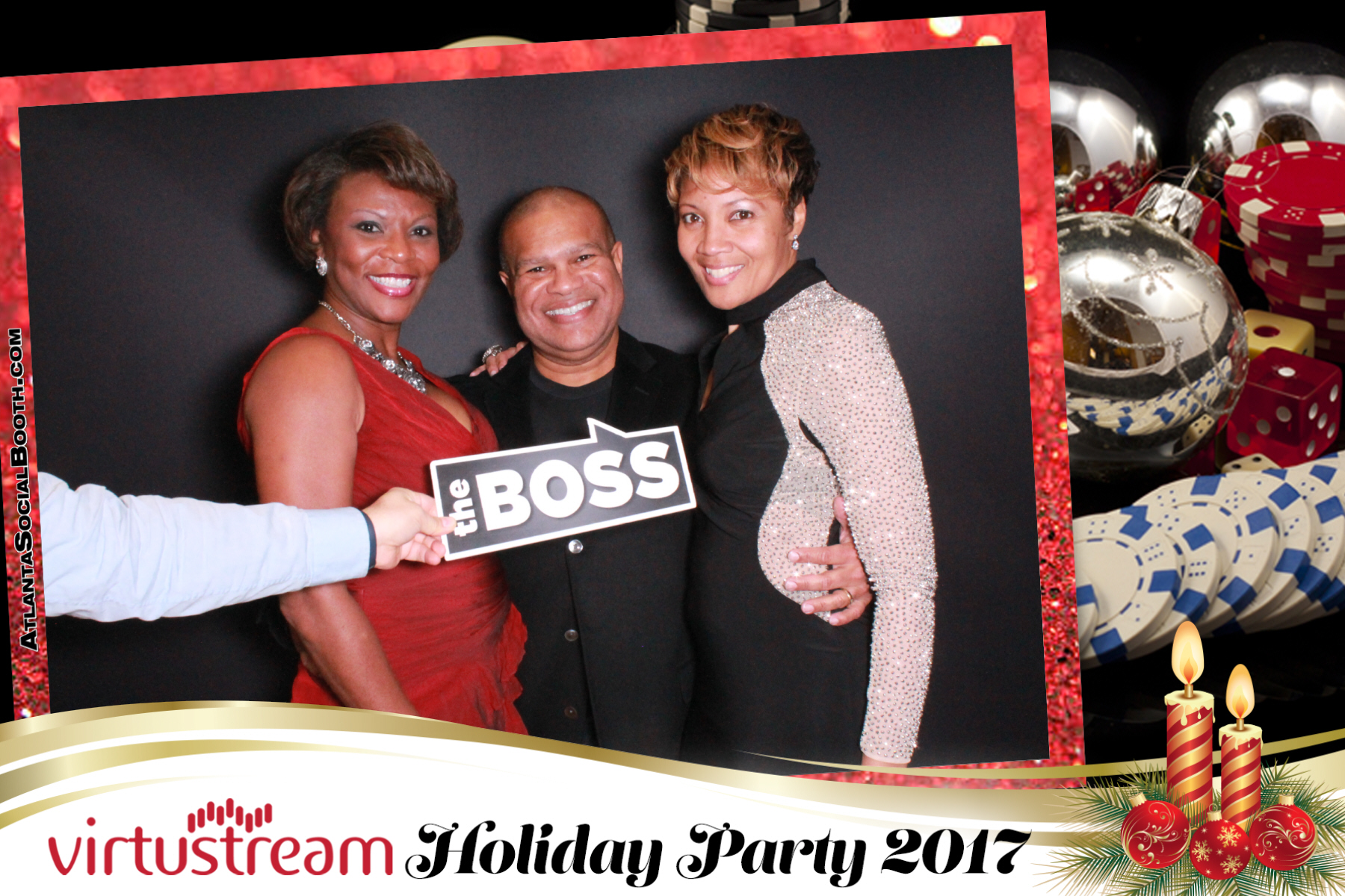 Virtustream Holiday Casino Party
