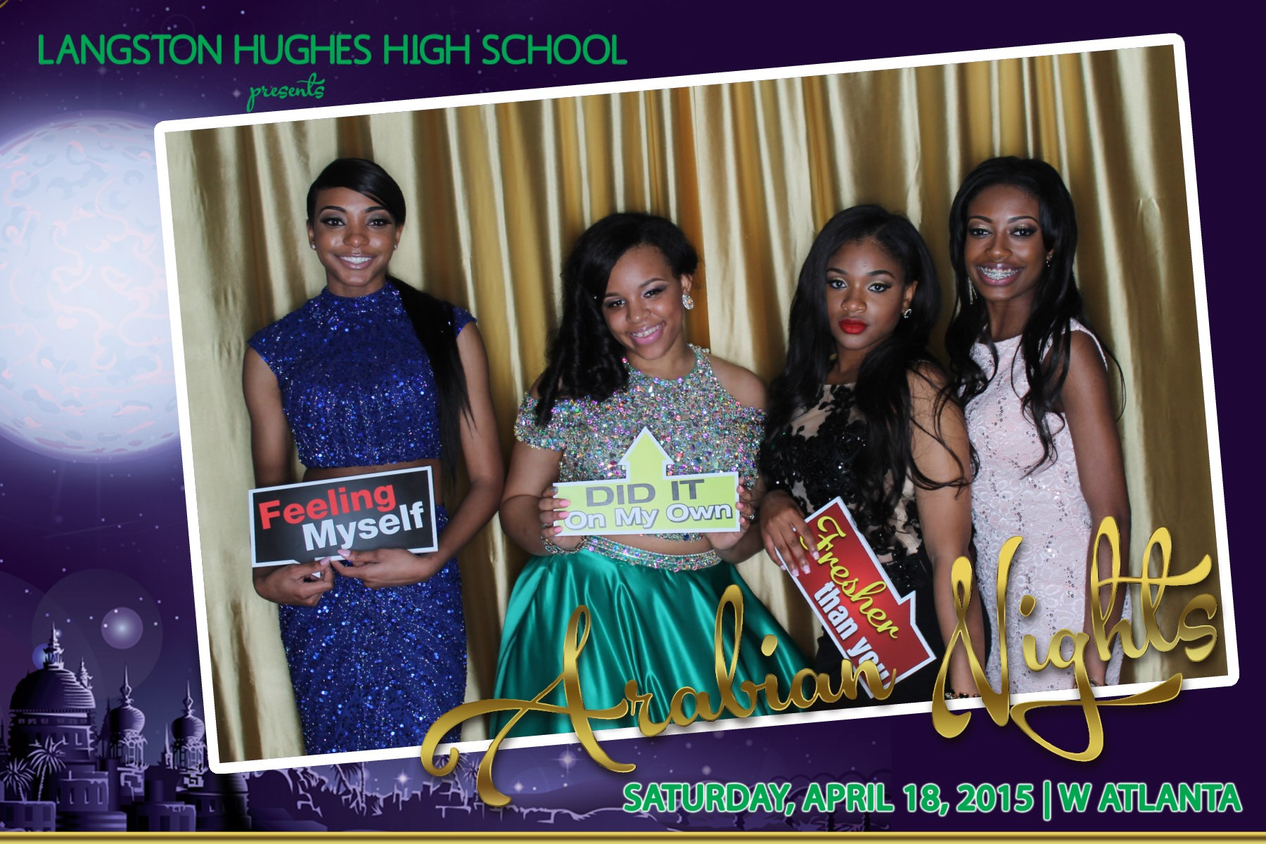 Langston Hughes HS Prom 2015