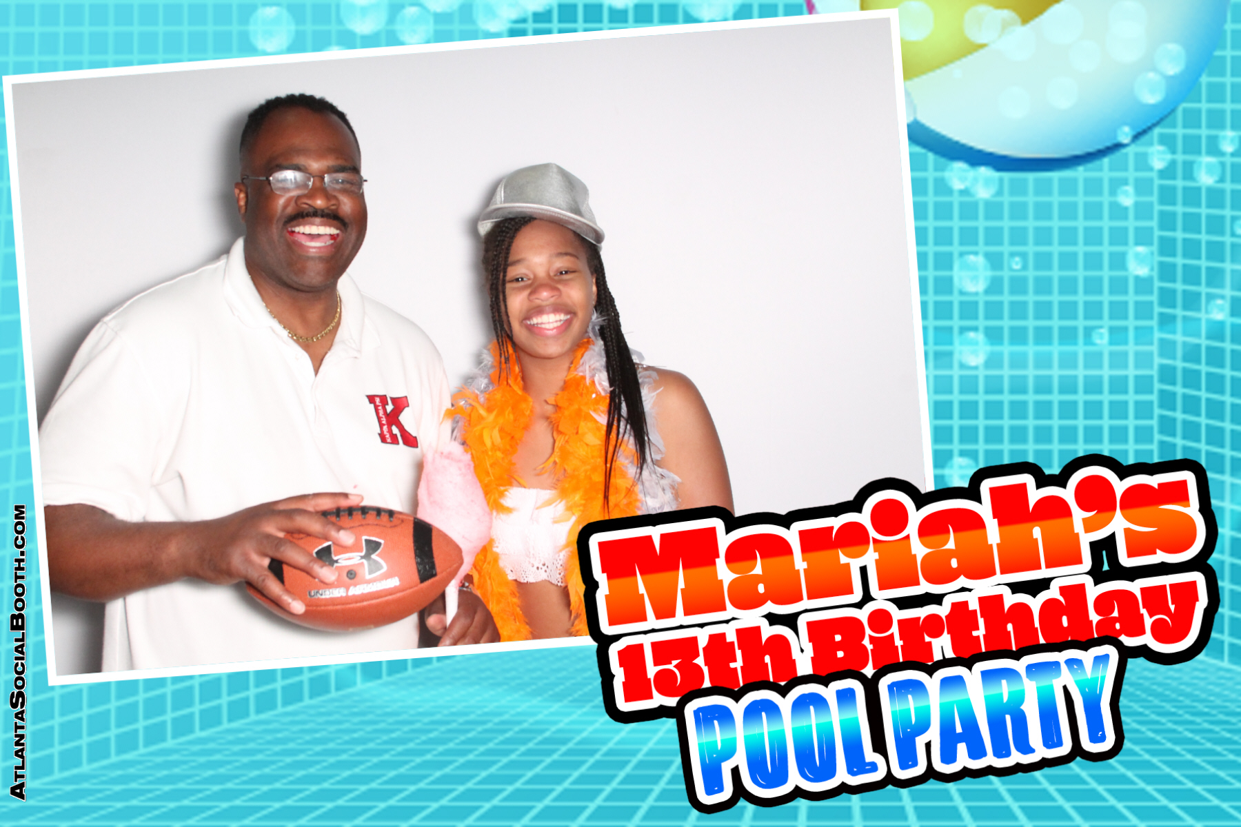 2018 Mariahs 13th Birthday Pool Part