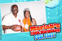 2018 Mariahs 13th Birthday Pool Part