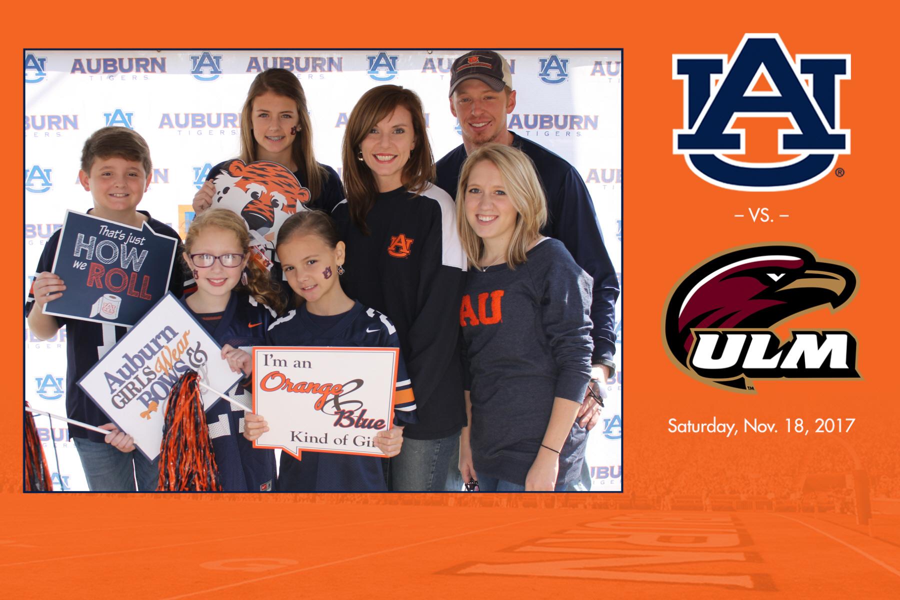 Auburn vs ULM