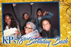 KPs 18th Birthday Bash