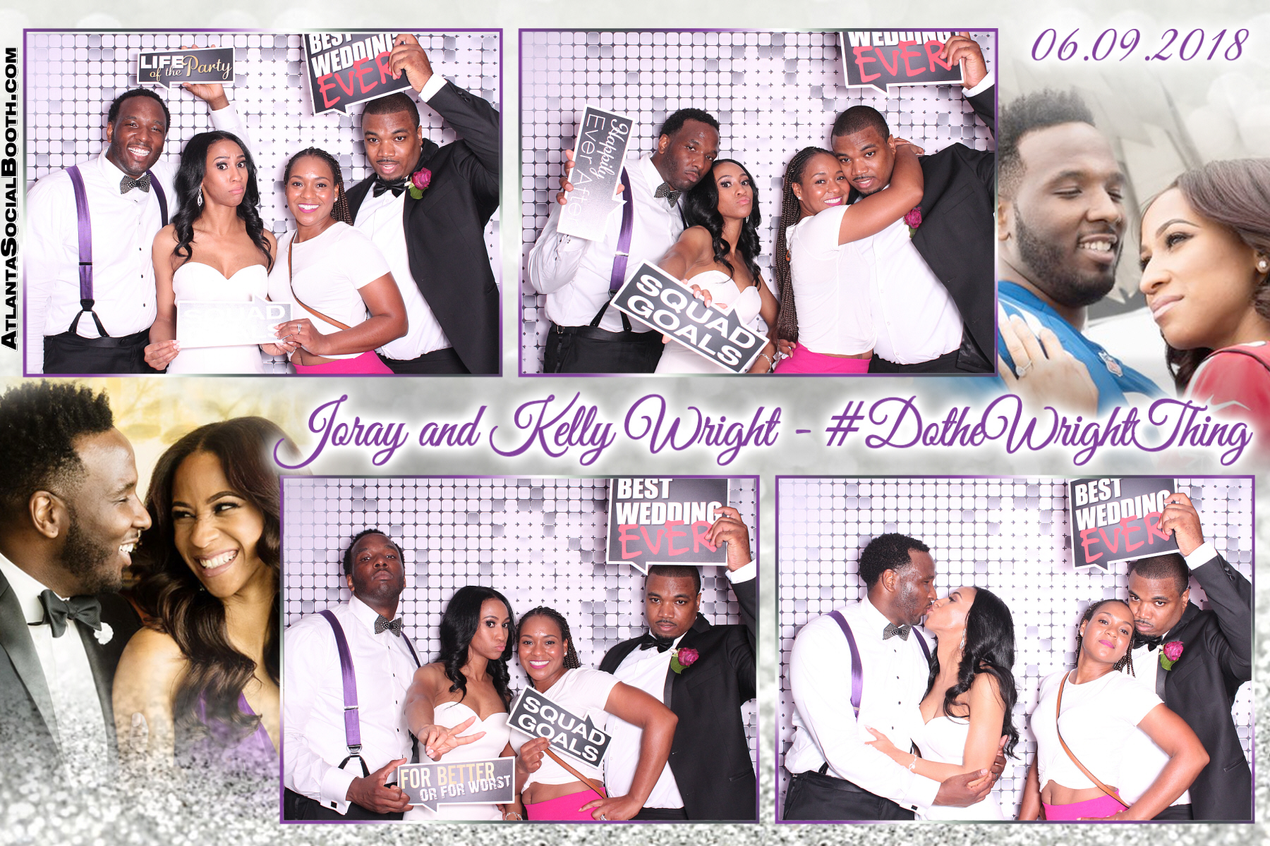 Joray and Kelly Wright Wedding