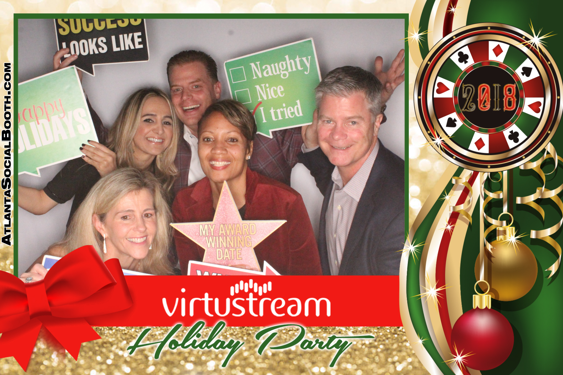 VirtuStream Holiday Party