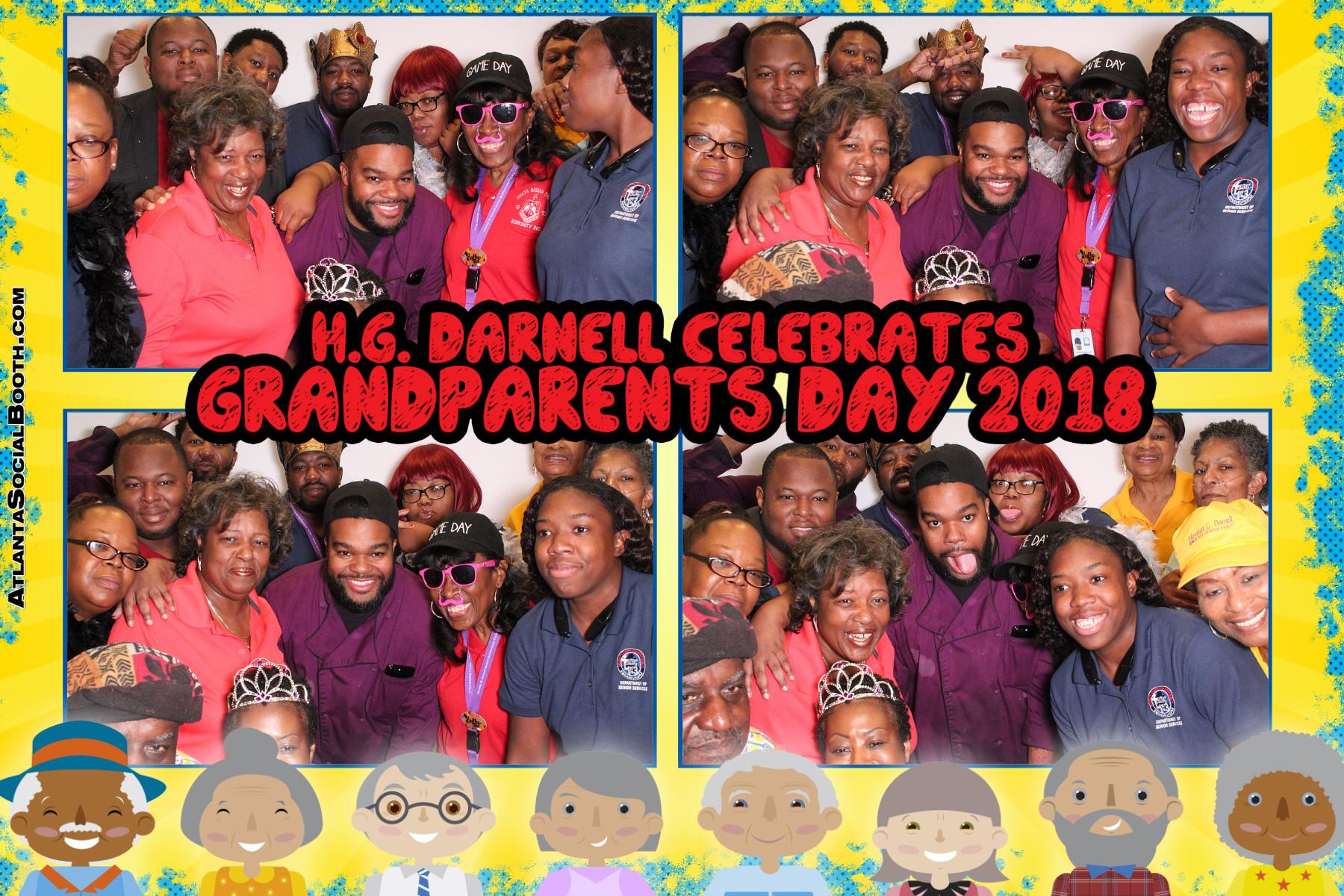 H.G. Darnell Celebrates Grandparents