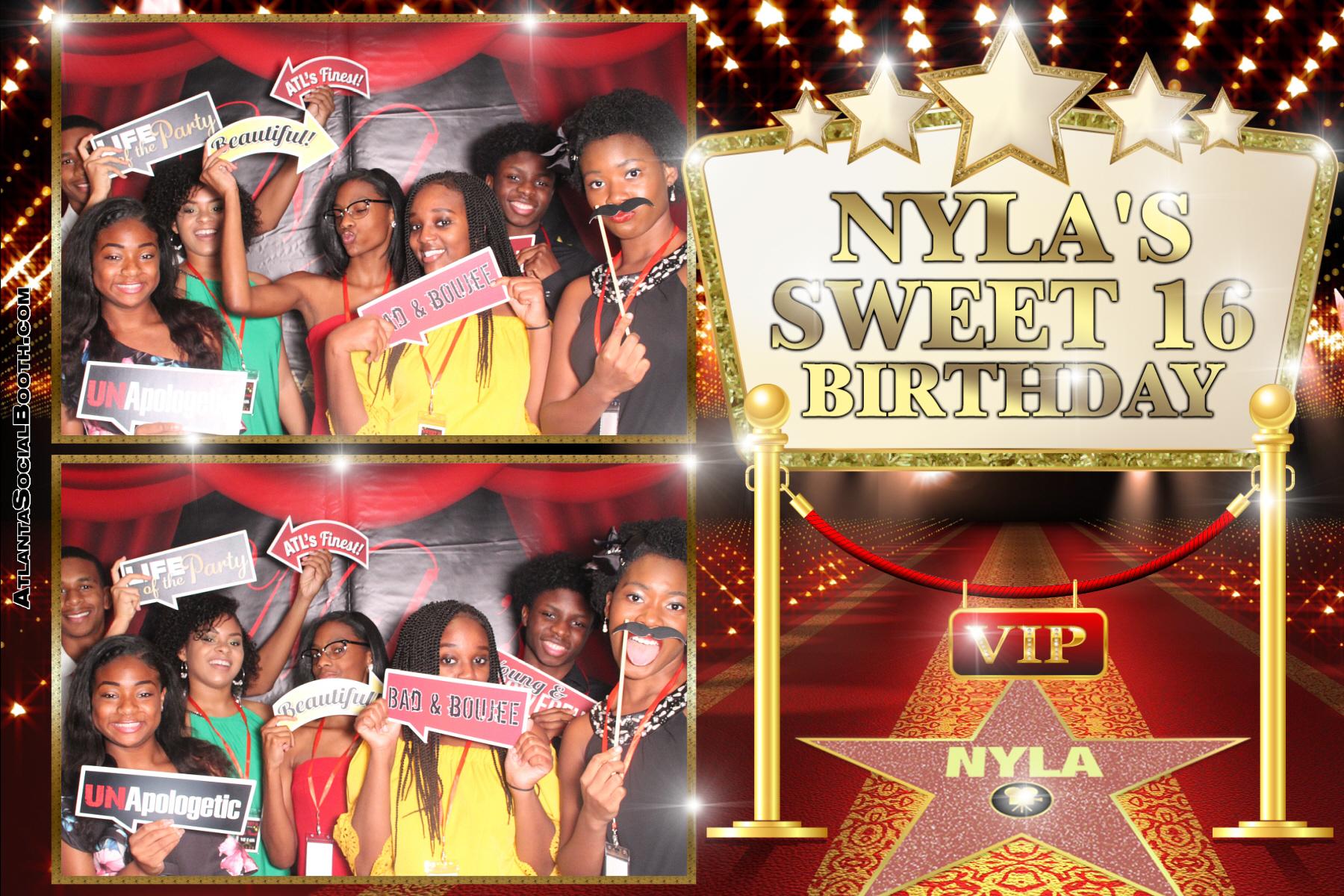 Nyla's Sweet 16