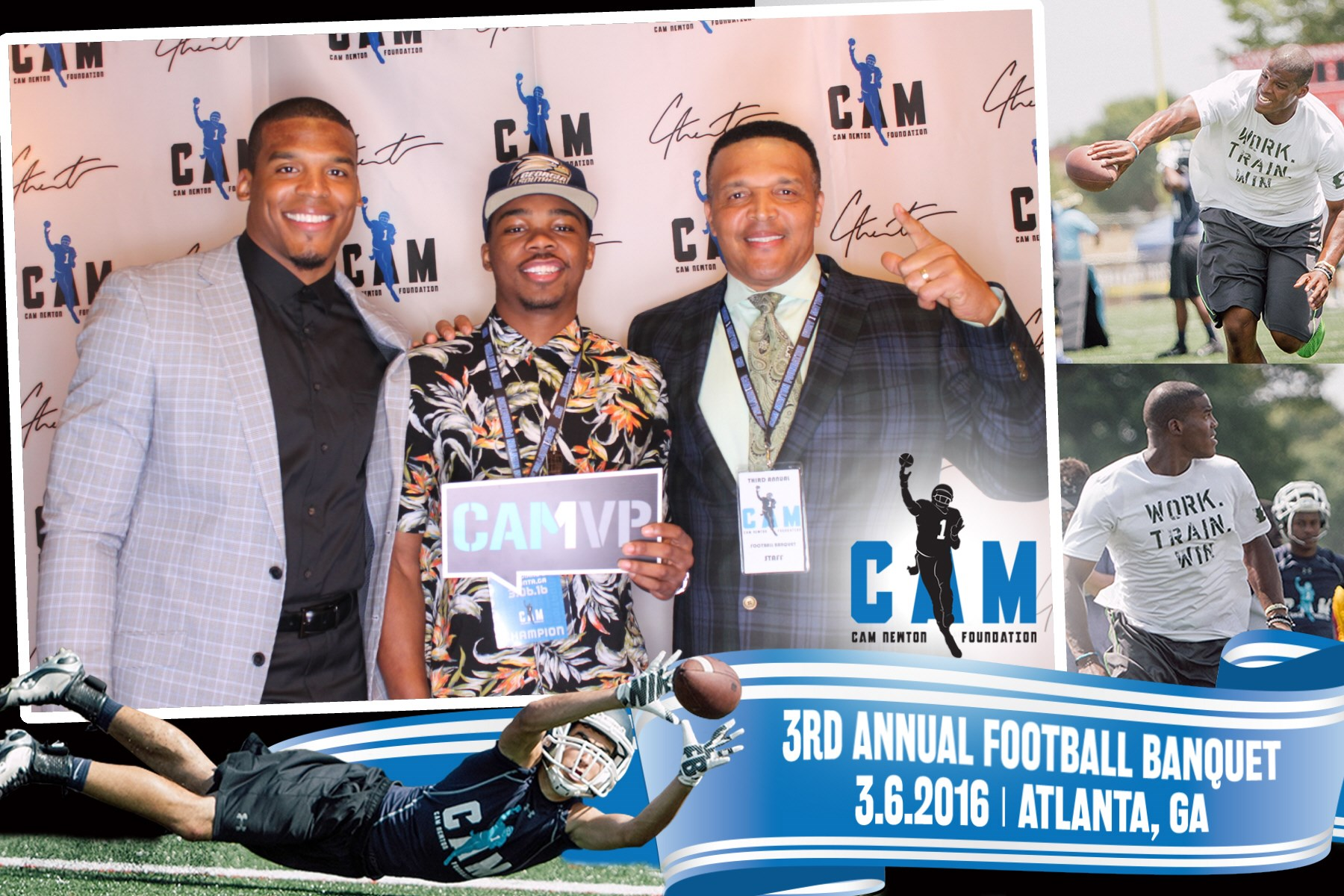Cam Newton Photo Booth