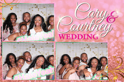 Cary and Courtney Wedding