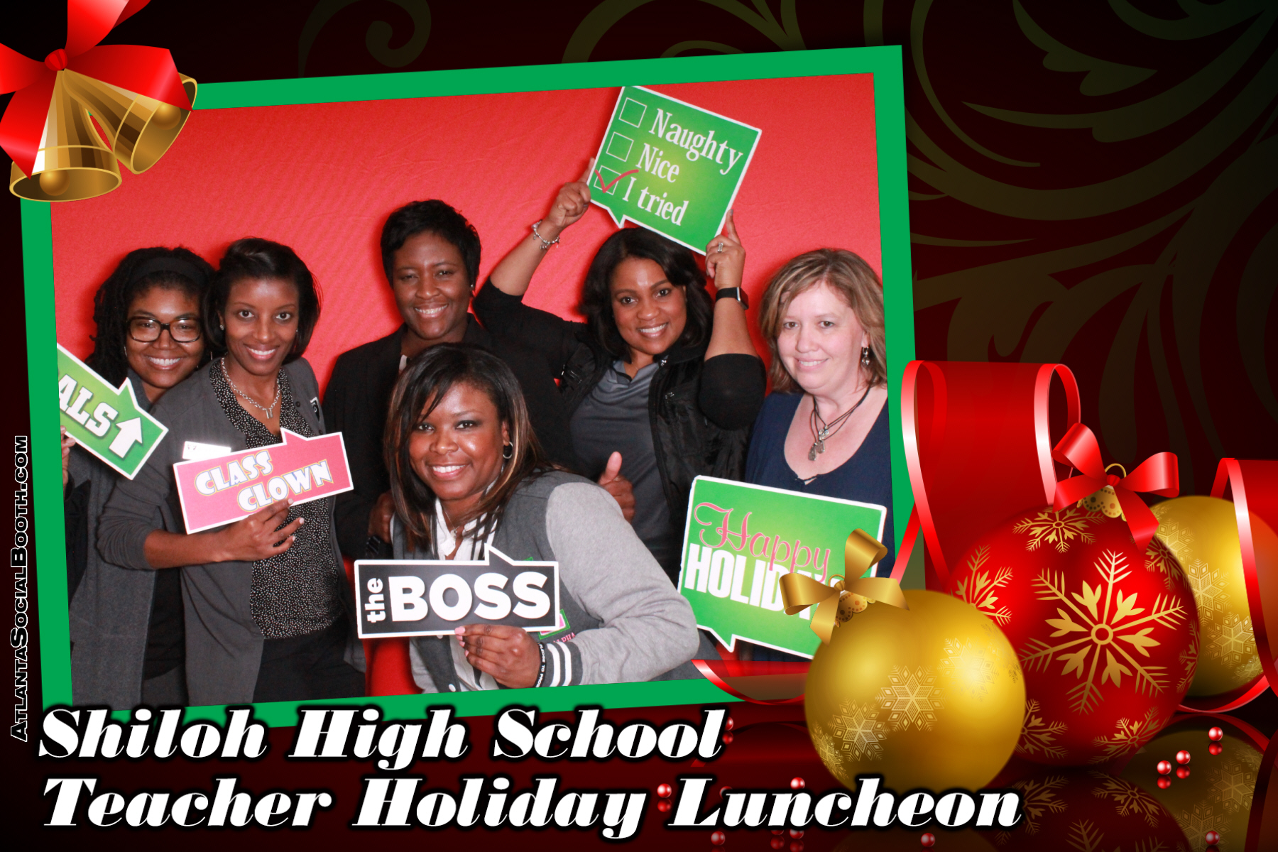 Shiloh HS Teacher Holiday Luncheon