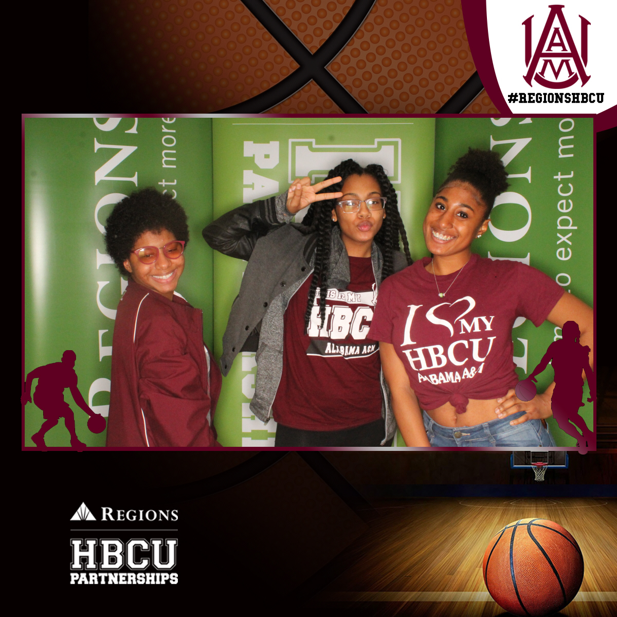 Regions HBCU - AAMU BBall (Single)