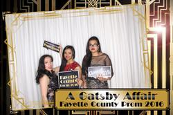 Fayette County High School Prom 2016