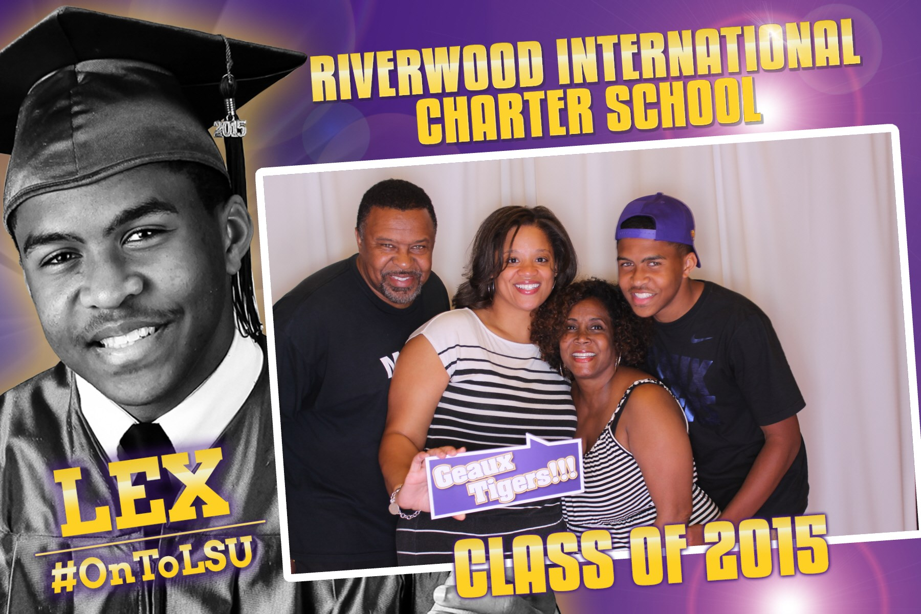 High School Graduation Photo Booth