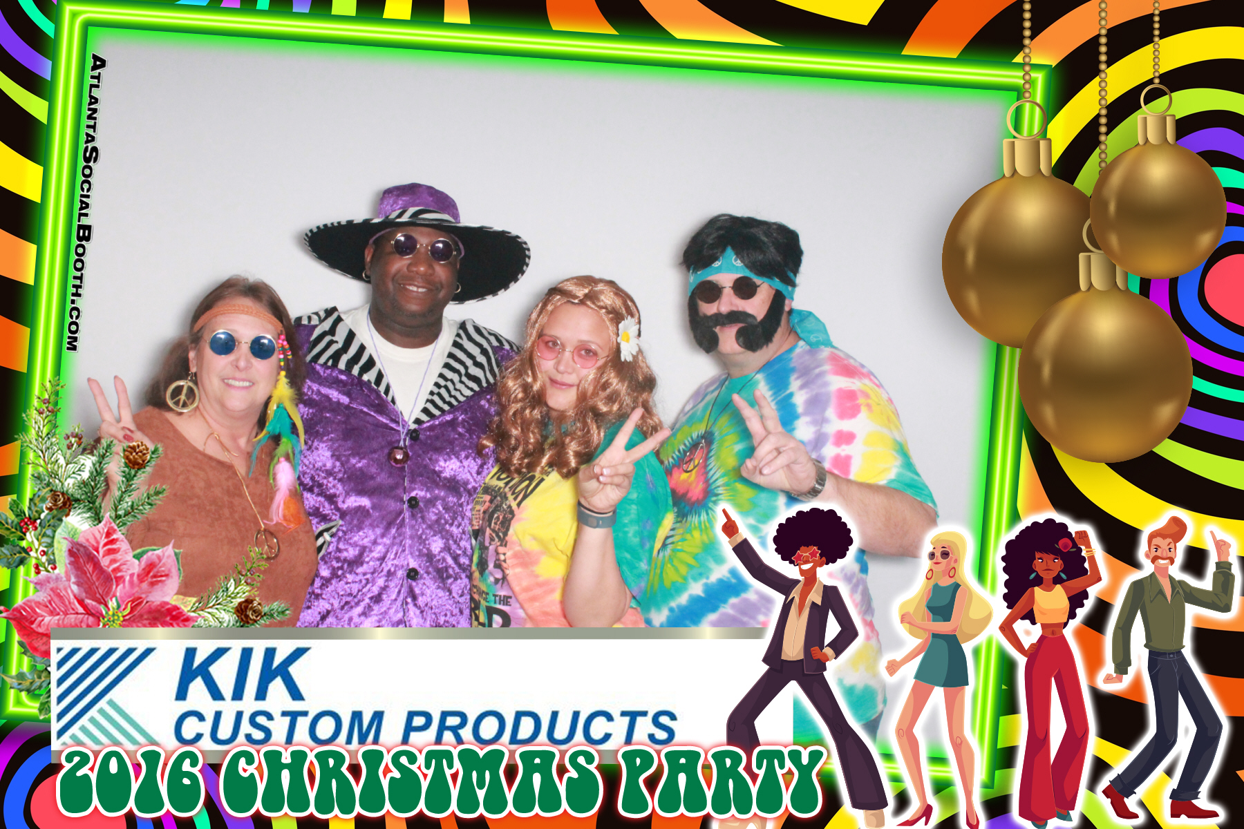 KiK Holiday 70's Party
