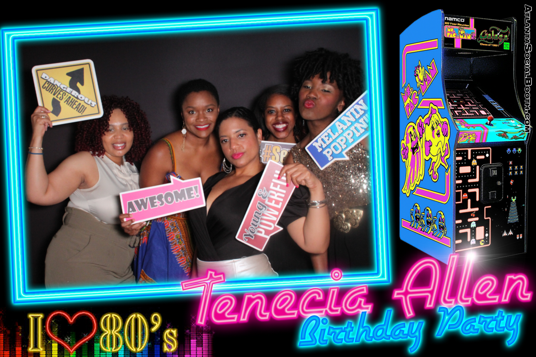 Tenecia Birthday Party