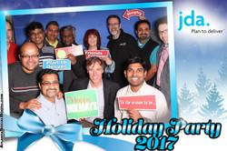 JDA Holiday Party Blue