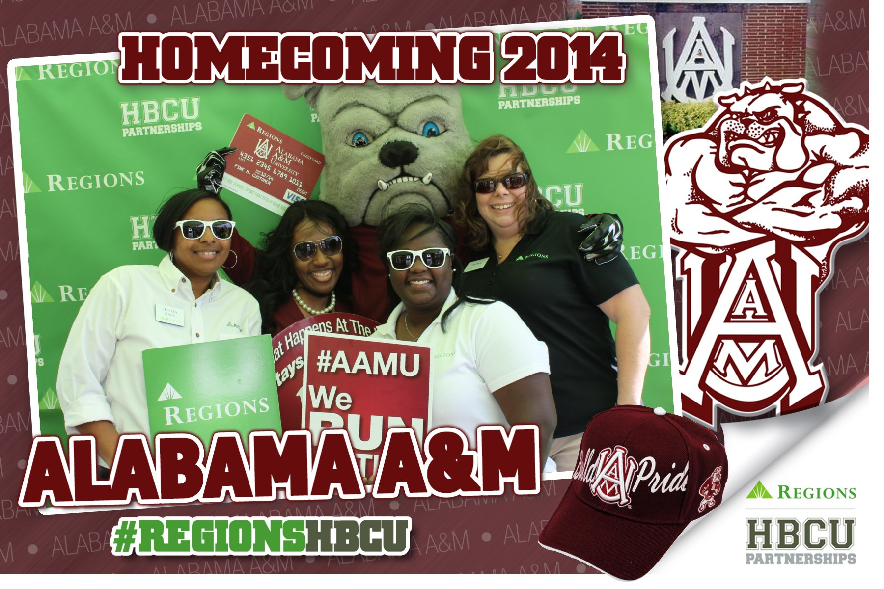 Regions HBCU AAMU Homecoming